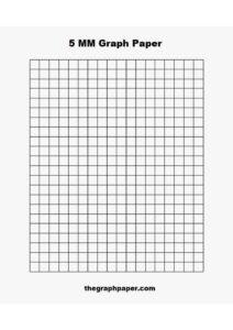 5 MM Graph Paper pdf