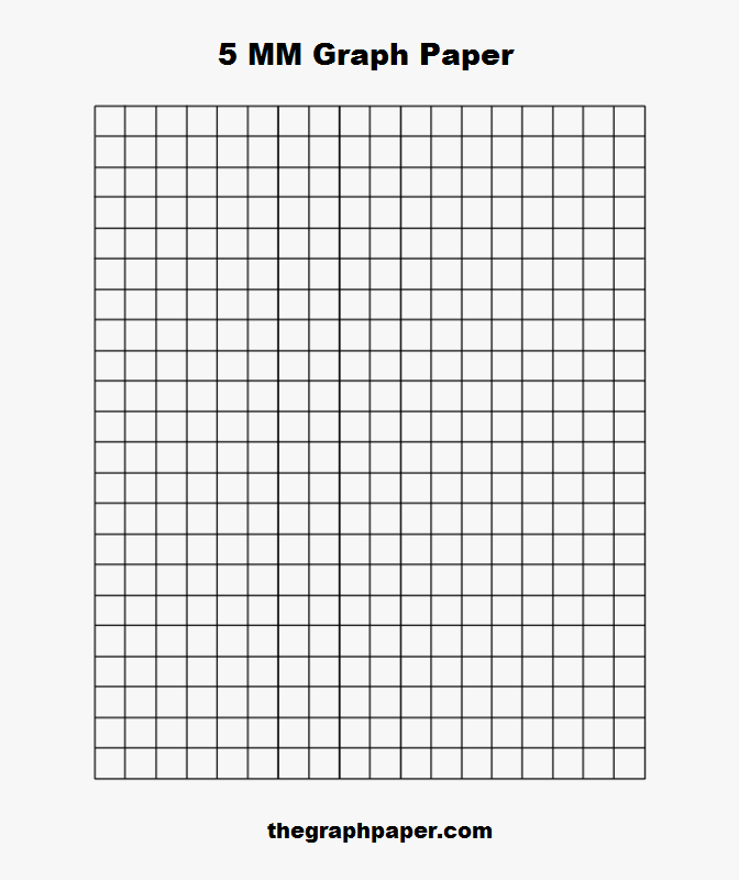 5 MM Graph Paper