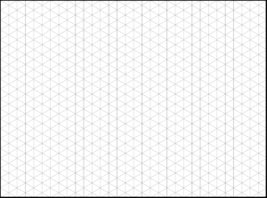 How To Use Triangle Graph Paper