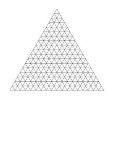 Triangle Graph Paper PDF