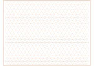 Triangle Graph Paper Printable pdf