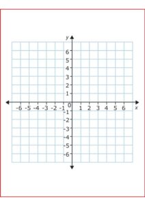 4 Quadrant Graph Paper with Numbers pdf