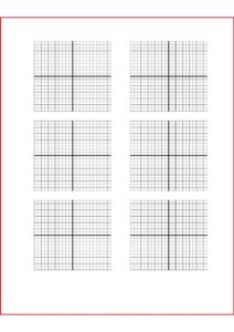 Blank Graph Paper with Numbers pdf