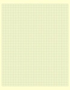Custom Engineering Graph Paper