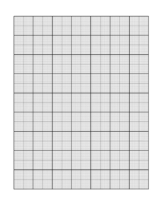 Different Size of Graph Paper