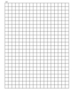 1 cm Graph Paper