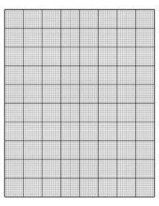 10 Squares Per Inch Graph Paper
