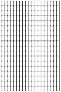 Bead Graph Paper