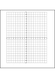 Coordinate Plane Graph Paper pdf