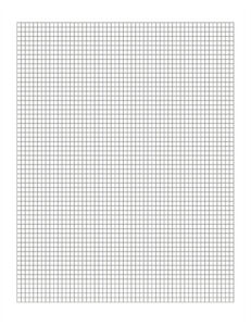 Digital Mapping Graph Paper