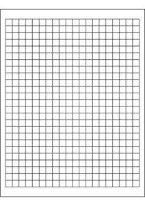 Graph Paper 1 Cm A4 pdf