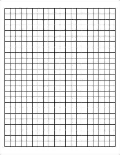 Graph Paper 1 CM A4