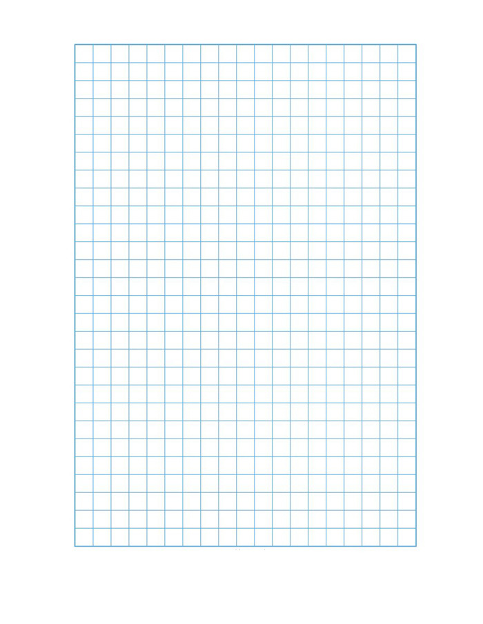 Graph Paper Excel Template