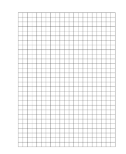 Grid A4 Paper 5mm