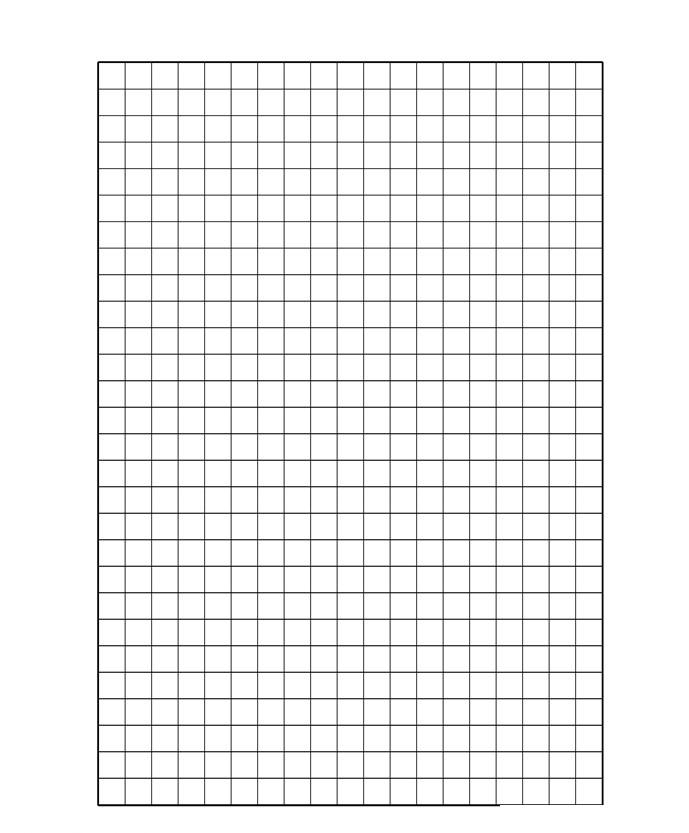 Grid A4 Paper