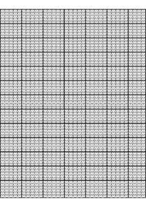 Knitting Graph Paper pdf