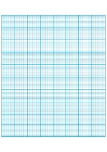 Numbered Graph Paper First Quadrant pdf
