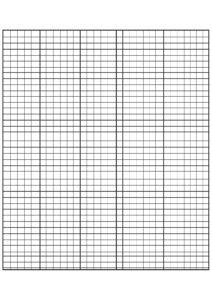 Numbered Graph Paper Printable pdf