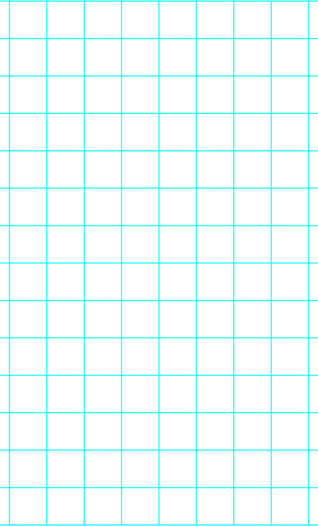 """1"""" One Inch Graph Paper"""