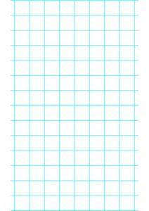 One Inch Graph Paper pdf