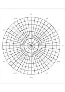 Polar Graph Paper Degrees pdf
