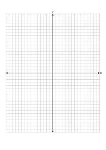 Printable Graph Paper with Axis and Numbers pdf