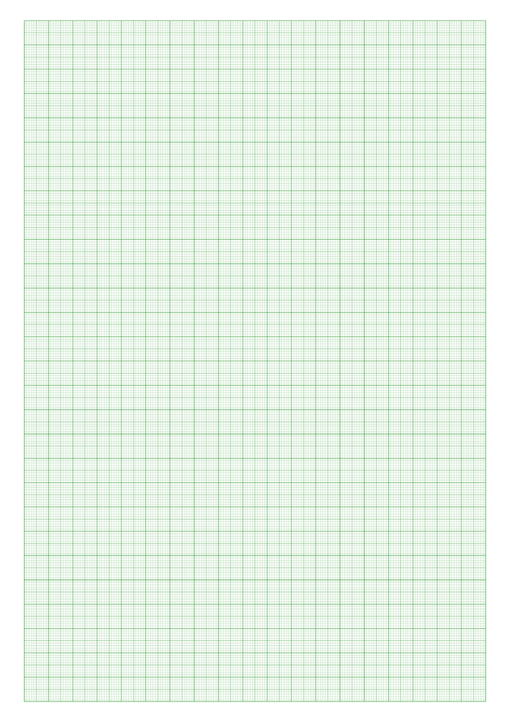 Printable Green Graph Paper