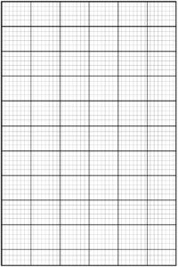 Printable Knitting Graph Paper