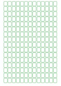Seed Bead Graph Paper Template pdf