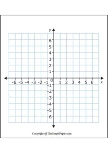 Virtual Graph Paper with X and Y Axis pdf
