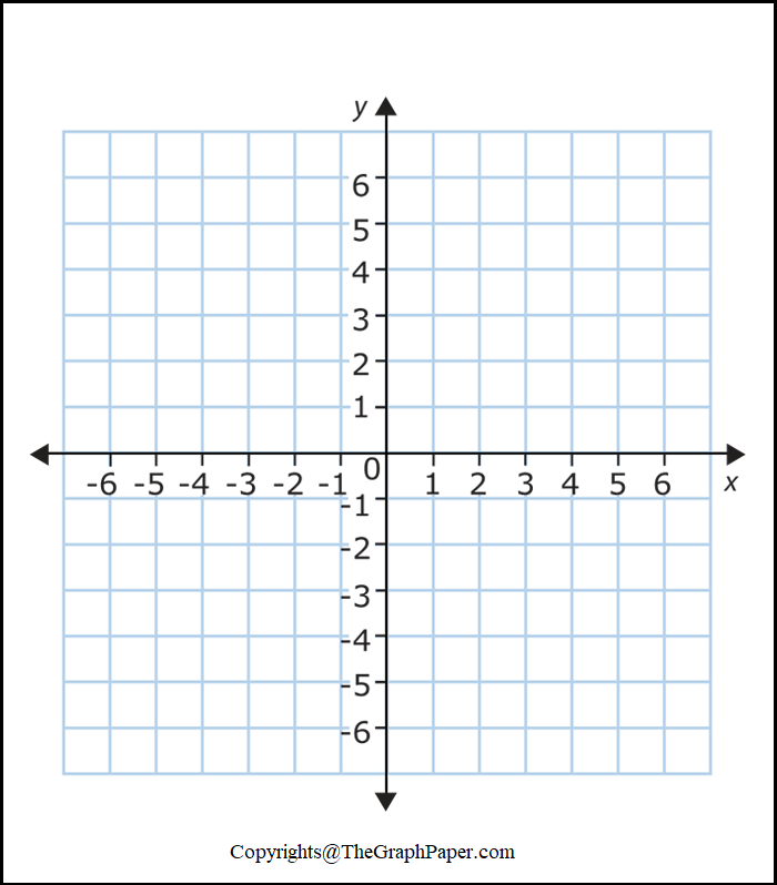 Virtual Graph Paper with X and Y-Axis