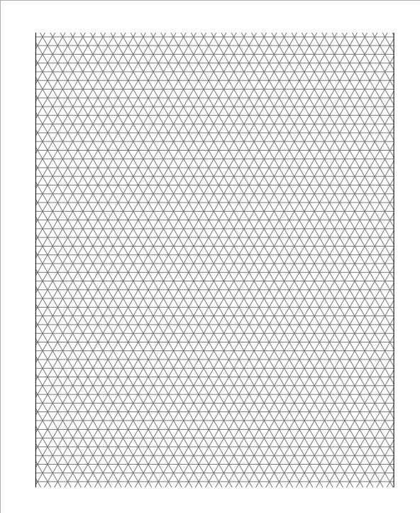 3D Graph Paper Printable
