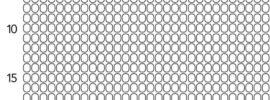 Circular Beading Graph Paper