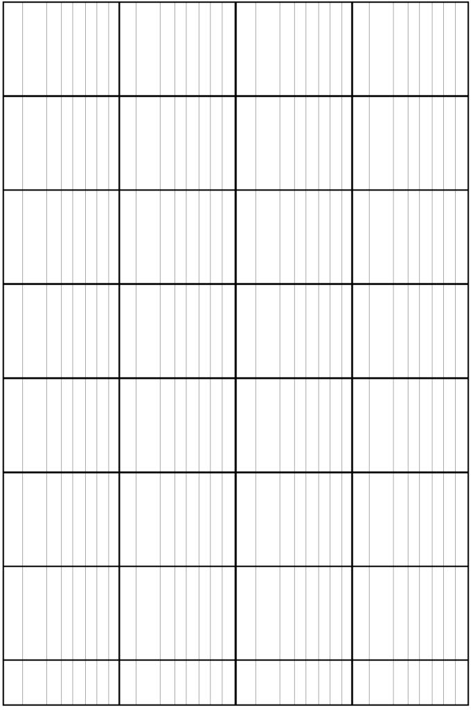 Logarithmic Graph Paper Template