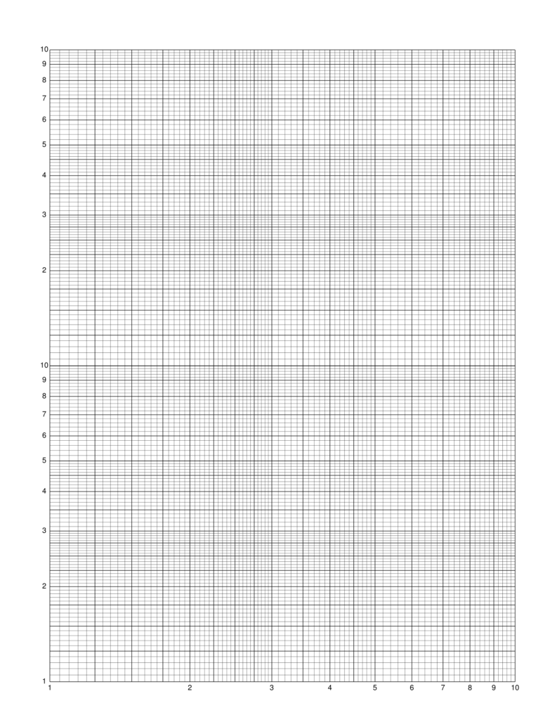 Semi Log Graph Paper